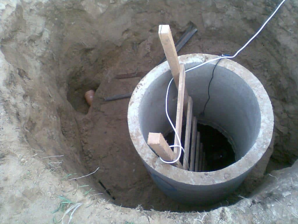 Колодцы для воды: как измерить диаметр пальца, размеры бетонных колец