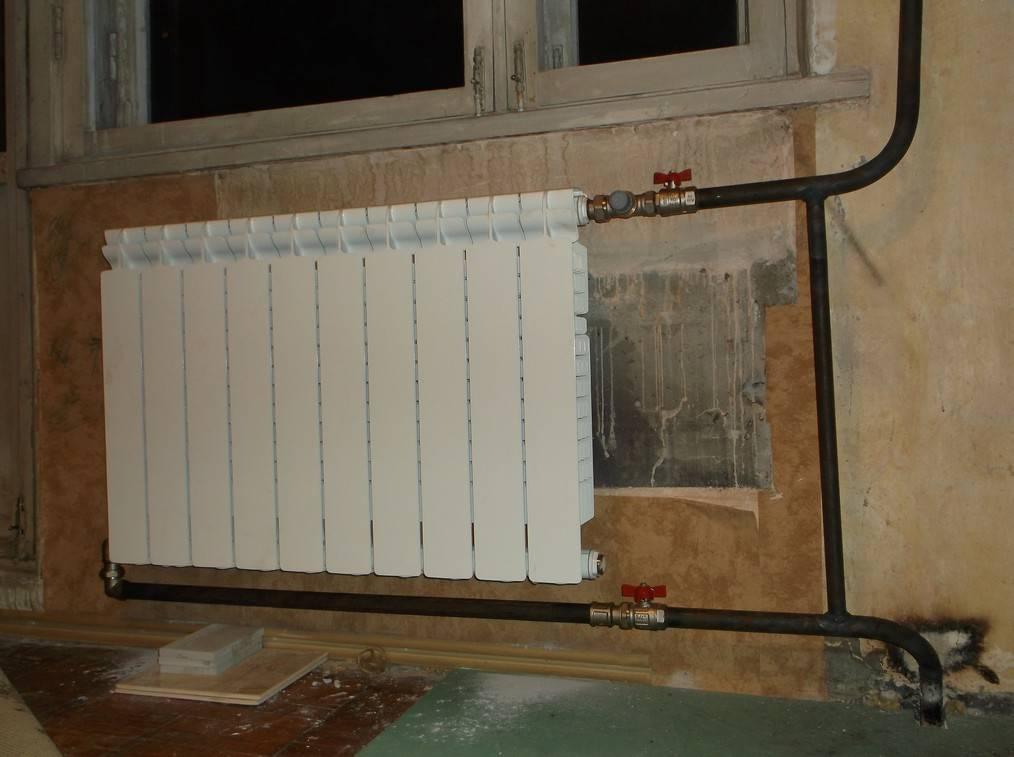 Правильное подключение радиаторов отопления при двухтрубной системе