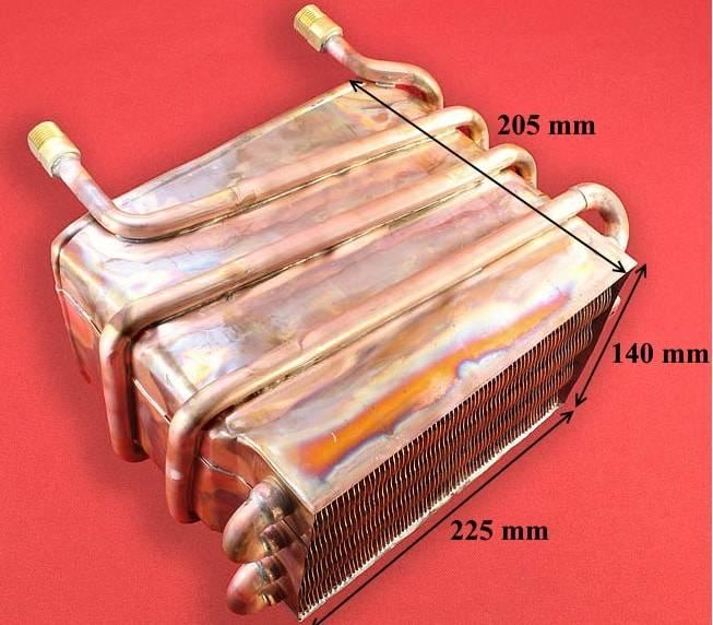Выбираем теплообменник для газовой колонки