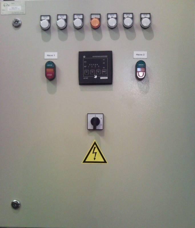Назначение, функционал и стандартная схема подключения шкафов управления насосами