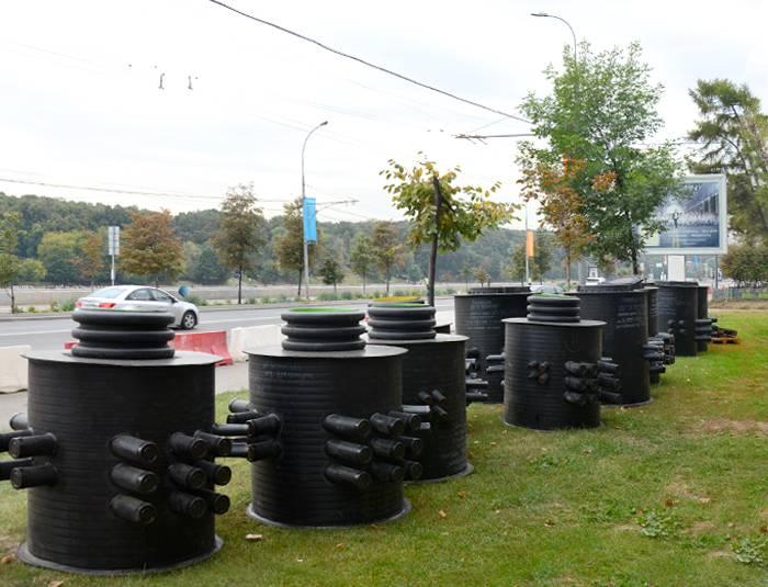 Колодцы  пластиковые канализационные: грамотное выбор