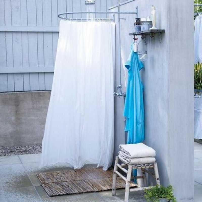 Летний душ для дачи своими руками: пошаговая инструкция всех этапов работ (идеи, фото)