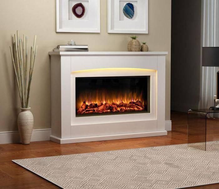 Тепло, безопасно, красиво: электрокамины с эффектом живого огня