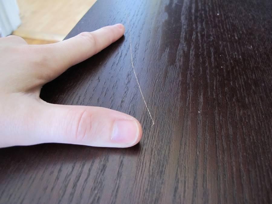 Как убрать царапины с глянцевой поверхности кухни: способы и средства удаления повреждений с гладкого пластика кухонного гарнитура