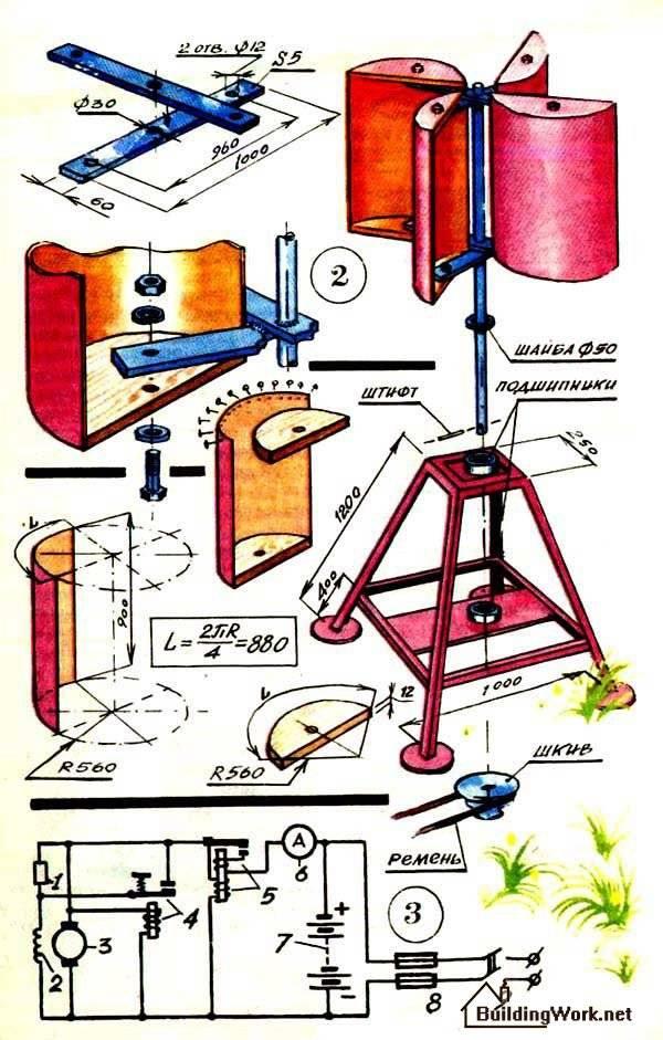 Ветрогенератор ???? своими руками - самый простой способ по созданию ветрогенератора