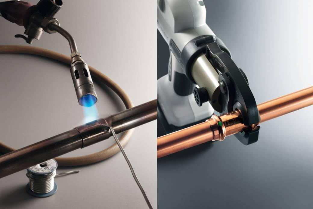 Трубы медные для отопления — характеристики и монтаж