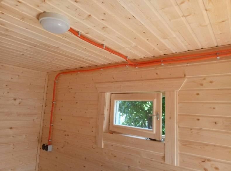 Электропроводка в деревянном доме своими руками — пошаговая инструкция
