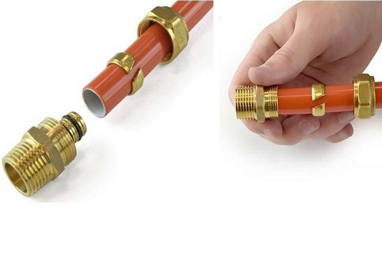 Все про пресс фитинги для металлопластиковых труб — чем они хороши (лучше других) + правила работы с ними