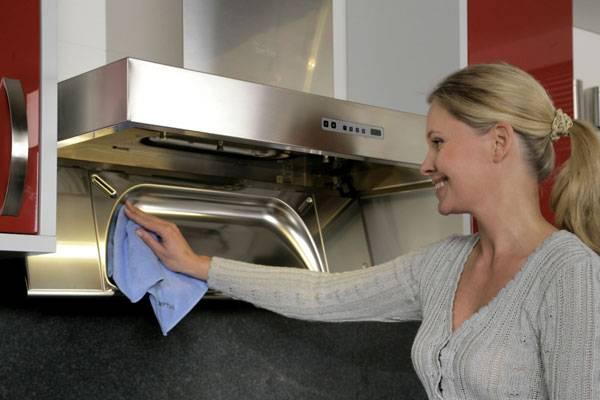Как очистить вытяжку от жира на кухне: домашние средства для удаления грязи, эффективные моющие растворы
