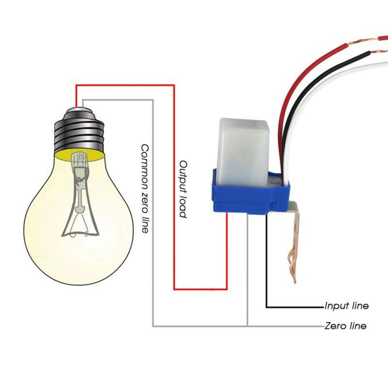 Фотореле для уличного освещения – как работает, виды и установка + видео
