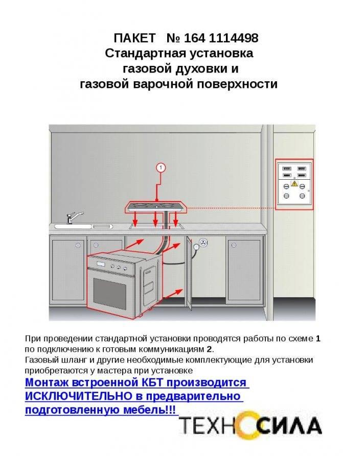 Газовая плита для дачи под баллон - инструкция по монтажу - уютный дом