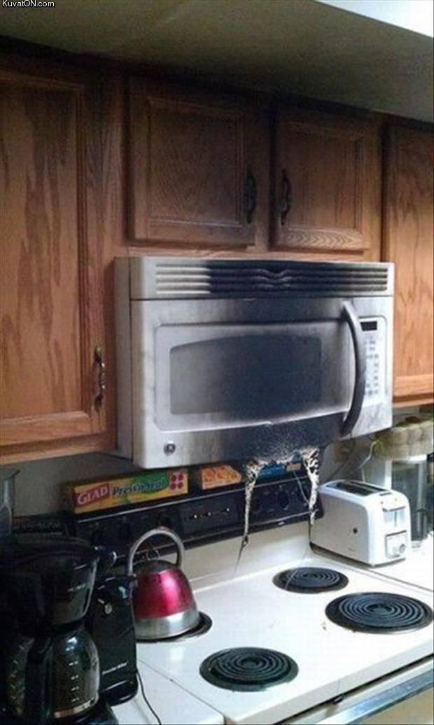 Можно ли ставить микроволновую печь над газовой плитой? - юридические советы от а до я