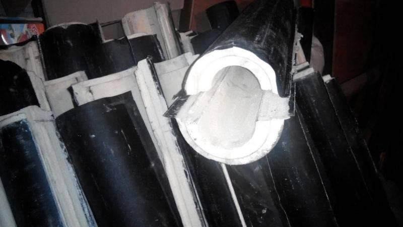 Утепление трубы дымохода: как утеплить кирпичную, асбестовую или железную дымовую трубу