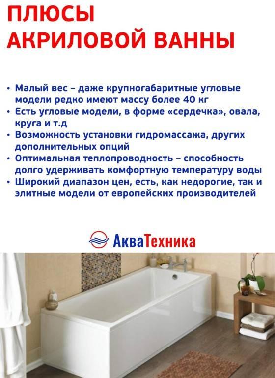 Акриловая или чугунная ванна: что лучше, какую ванну выбрать, какая лучше, акрил или чугун, отличие акриловых ванн от чугунных