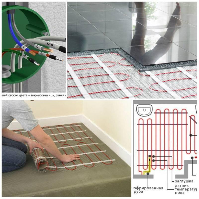 Как сделать теплый водяной пол под плитку своими руками?