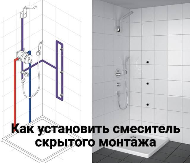 Крепление смесителя к стене в ванной: подробная инструкция