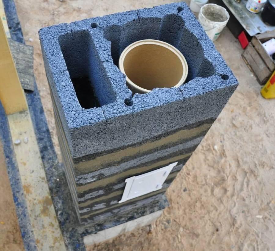 Керамический дымоход: российского производства, для бани и камина, устройство и монтаж