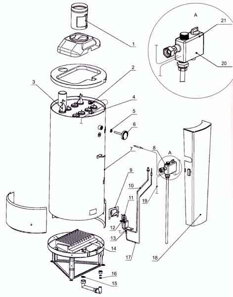 Чистка газового котла аогв-11.6-3 своими руками - личный опыт
