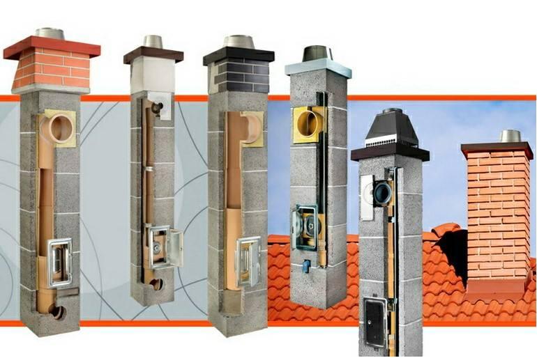 Преимущества и устройство керамических дымоходов
