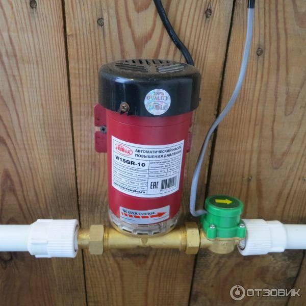 Выбор и установка насоса для повышения давления воды