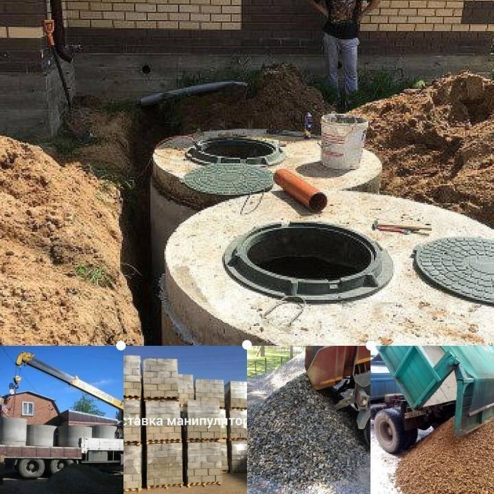 Как сделать выгребную яму с бетонными кольцами своими руками