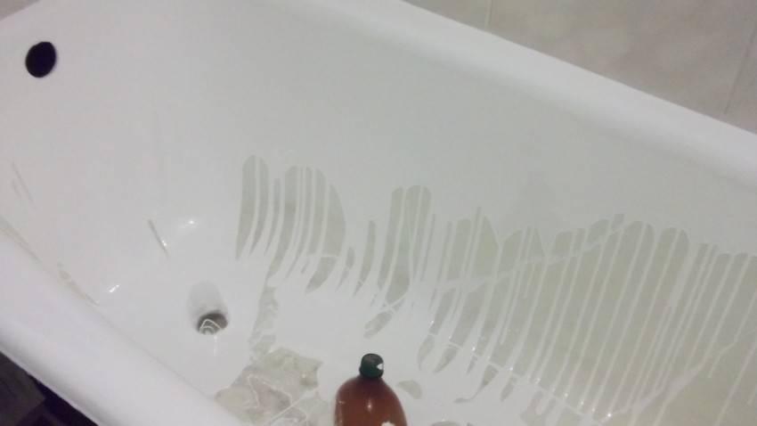 Покрытие ванны акрилом: как сделать своими руками