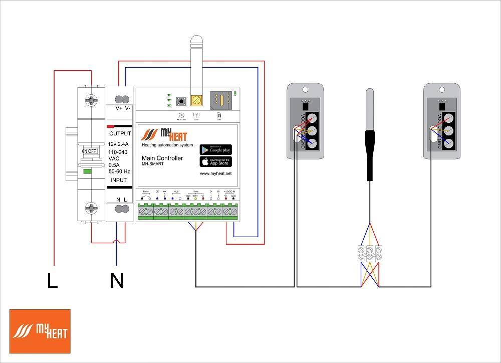 Как выбрать внешний датчик температуры для котла отопления