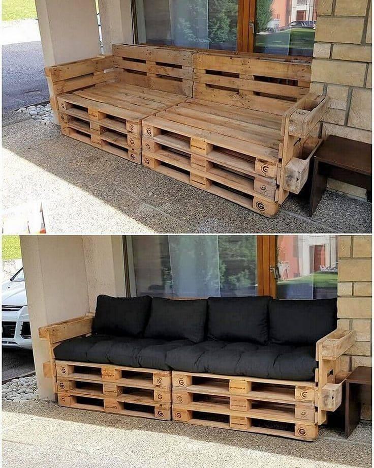 Мебель из поддонов (паллет) своими руками - 280 вариантов мебели из паллет