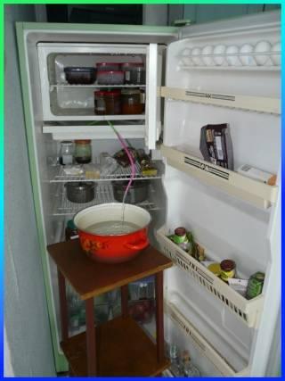 """Как быстро разморозить двухкамерный холодильник """"индезит"""""""