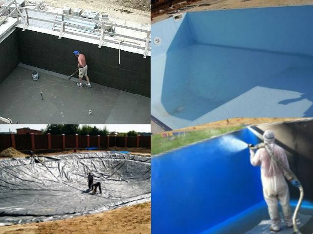 Гидроизоляция бассейна: как защитить резервуар от протечек за 3 шага