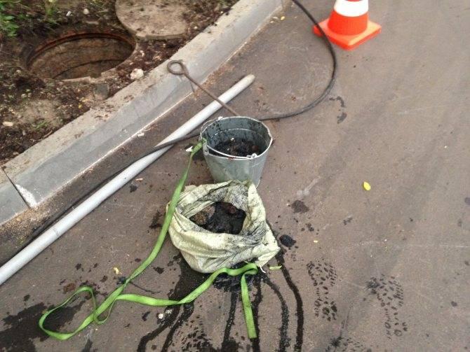 Технология прочистки ливневой канализации