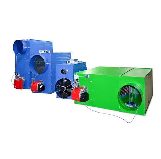 Газовые теплогенераторы для воздушного отопления: видео-инструкция по установке газовоздушного обогрева своими руками, печь, фото и цена