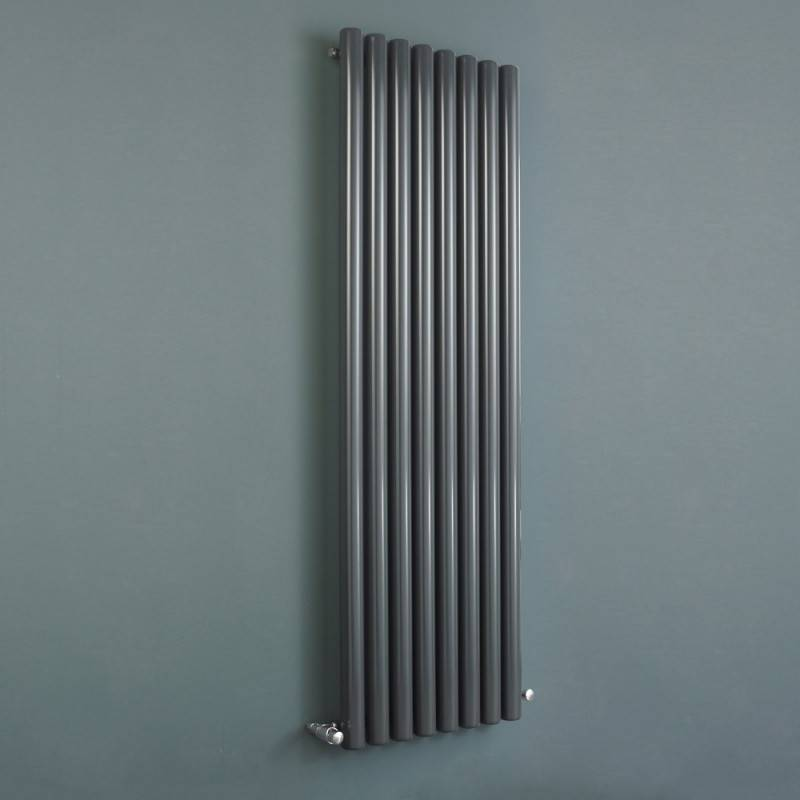 Как установить вертикальные батареи отопления?