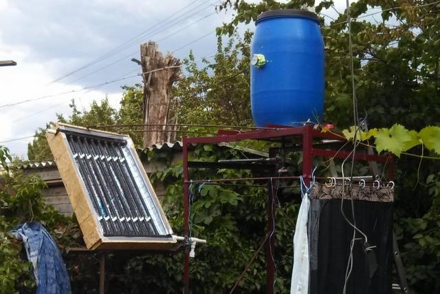 Солнечный коллектор своими руками: как собрать гелиоколлектор