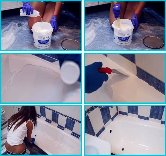 Эмаль для ванной — как покрыть ванну эмалью своими руками (фото, видео)