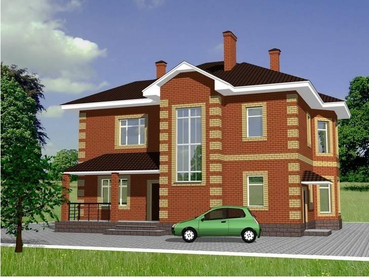 Экономичный котёл для отопления кирпичного двухэтажного дома площадью 180 кв. метров