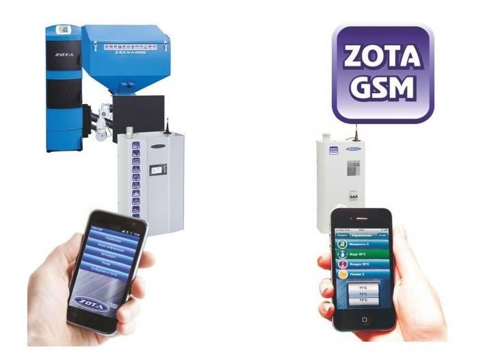 Управление котлом через телефон с помощью gsm-модуля: принцип и особенности