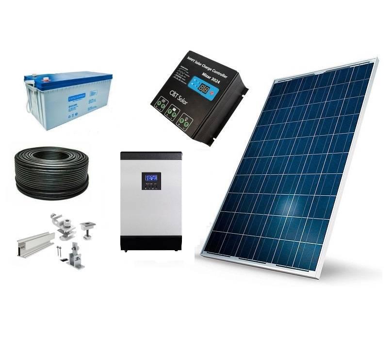 Для чего нужен и как работает инвертор солнечных батарей