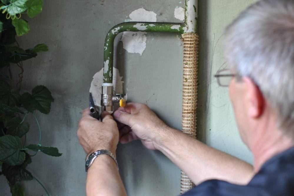 Замена газового крана в квартире: кто должен менять, срок службы и установка