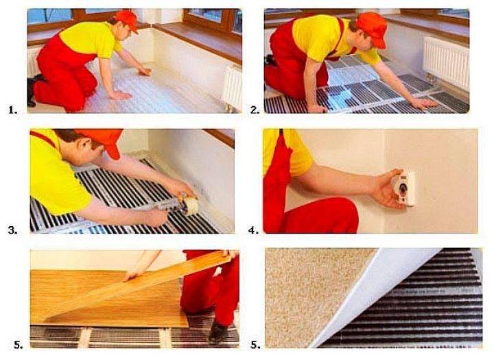 Тепло и комфорт вашего дома: инфракрасный теплый пол под линолеум