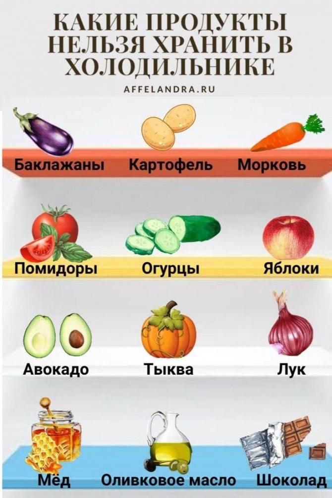 40 продуктов, которые нельзя хранить в холодильнике - delfi