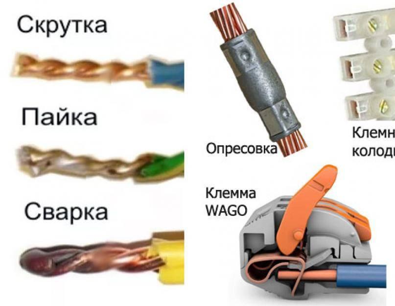 Соединение проводов. описание способов соединения :: syl.ru