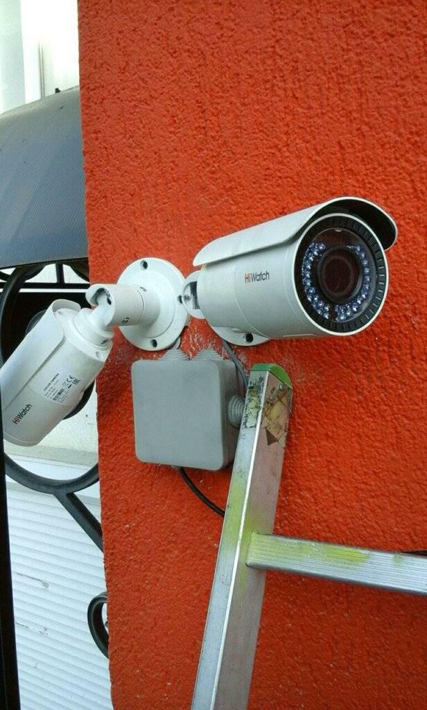 Установка камер видеонаблюдения: виды камер, выбор + монтаж и подключение своими руками