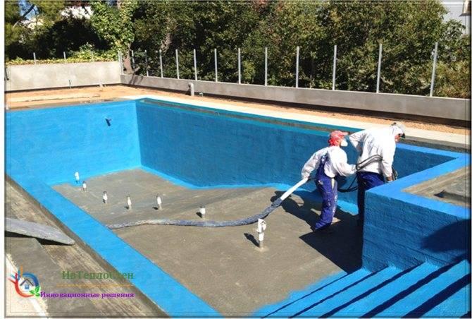 Материалы для гидроизоляции бассейнов: сравнительный обзор