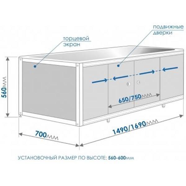 Экран под ванну - 145 фото дизайн новинок с описанием всех нюансов применения в оформлении интерьера ванной комнаты
