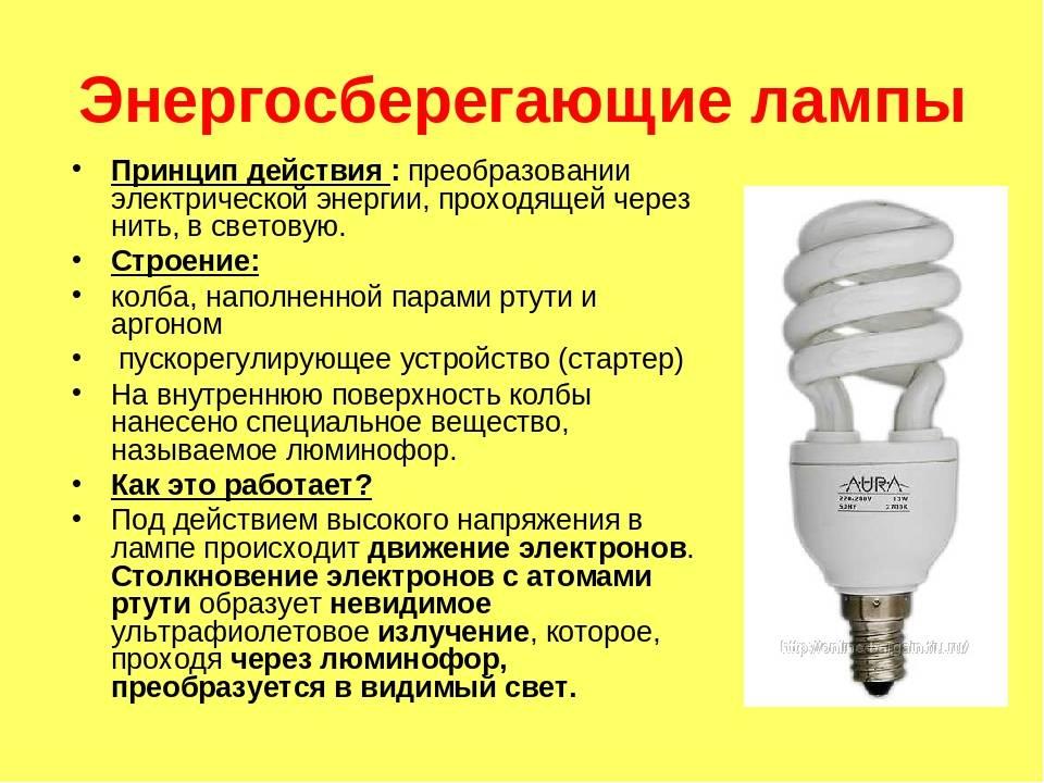Типы лампочек: плюсы и минусы – освещение