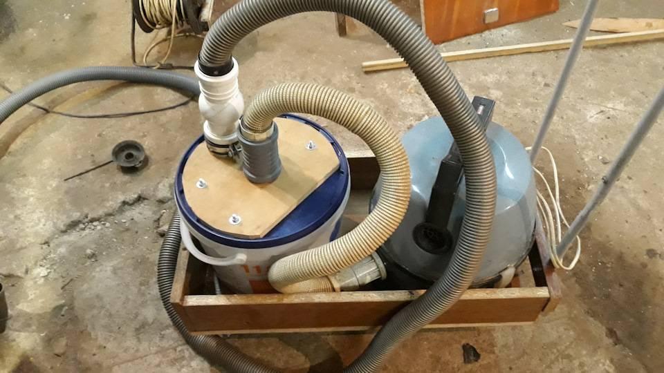Строительный пылесос своими руками - 2 способа без циклона. отличия от обычного и уборка цементной пыли при штроблении.