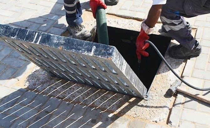 Технология прочистки ливневой канализации: обзор популярных способов