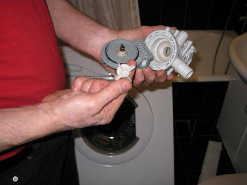 Замена сливного насоса на стиральной машине своими руками