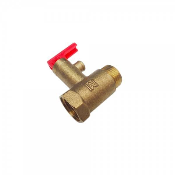 Предохранительный клапан для водонагревателя (бойлера): принцип работы, установка
